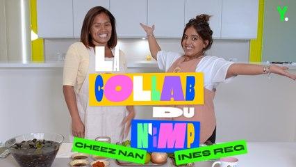 Ines Reg s'essaie à la cuisine avec Cheez Nan (c'est mémorable )