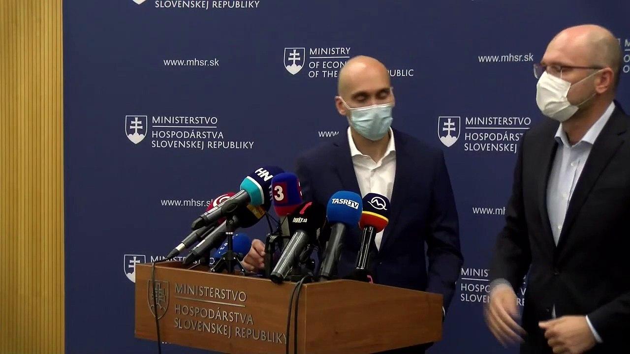 ZÁZNAM: Situácia v energetike - TK ministra hospodárstva SR Richarda Sulíka