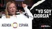 """""""Yo soy Giorgia"""", così Giorgia Meloni ha tradotto il suo tormentone in Spagna: il discorso a Madrid"""