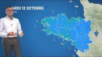 Illustration de l'actualité La météo de votre mardi 12 octobre 2021
