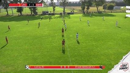 U19. Stade Lavallois / Stade Rennais F.C. : les buts de la rencontre (2-1)
