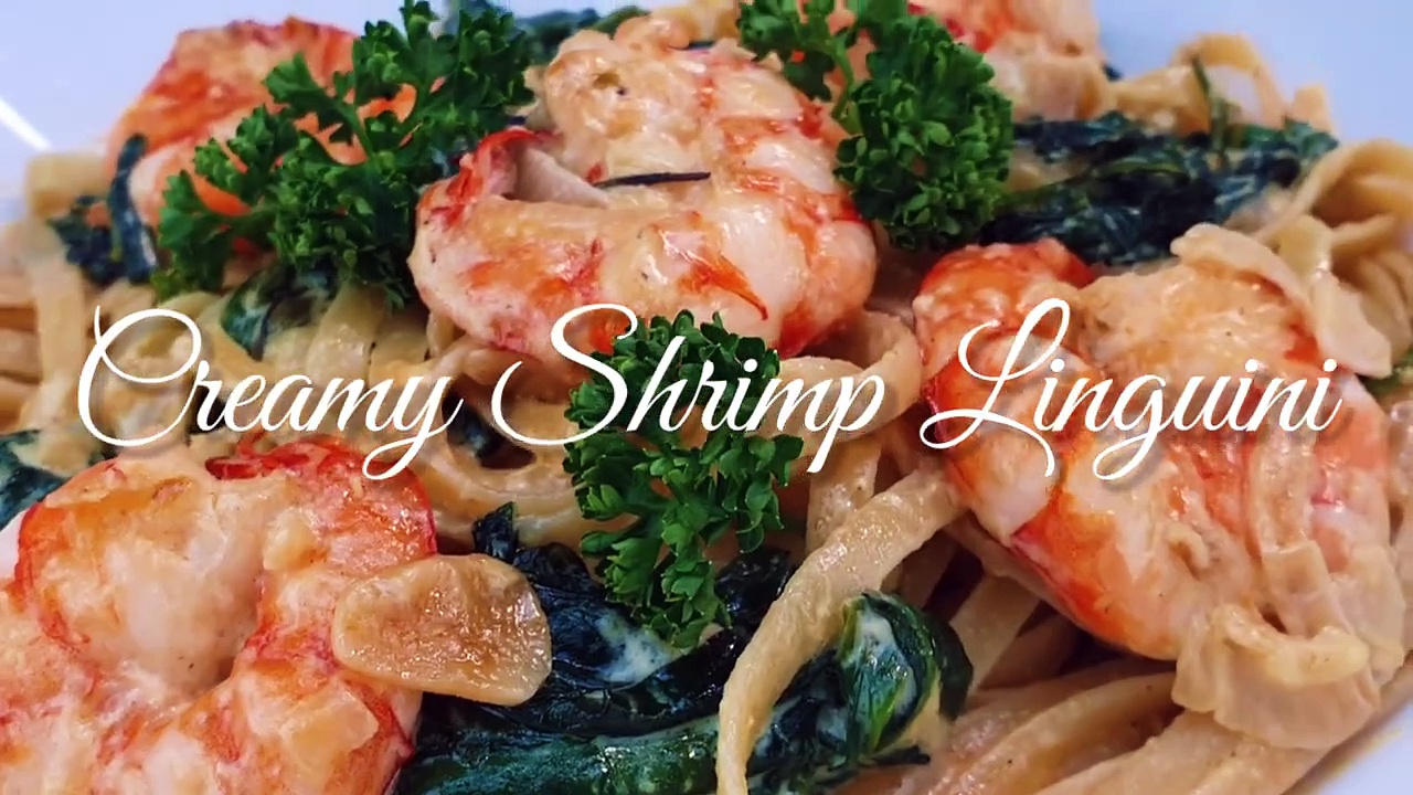 Creamy Shrimp Linguini