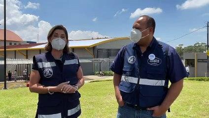 Hospital de Heredia inicia reparaciones tras afectaciones por torbellino