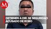 Detienen a director de Seguridad Pública por robo a tienda en Edomex