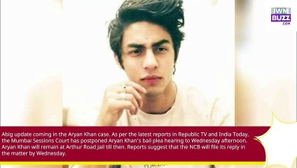 No Relief for Aryan Khan Mumbai Sessions Court to hear ShahRukh Khan sons bail plea on 13th October