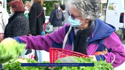 Reportage - Nouveau marché alimentaire à Meylan