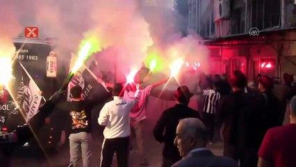 Polis damat, gelin almaya Beşiktaş taraftarları ve off-road ekibi ile gitti