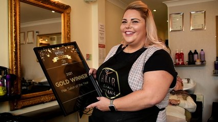 Hairdresser who set up in lockdown wins industry awards