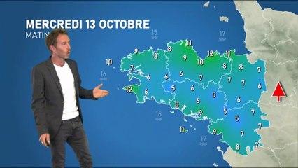 Illustration de l'actualité La météo de votre mercredi 13 octobre