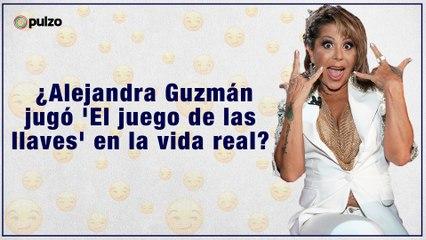 ¿Alejandra Guzmán jugó 'El juego de las llaves' en la vida real?