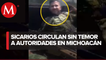 Elemento de la Guardia Nacional dejó ir a un sicario en Nueva Italia, Michoacán