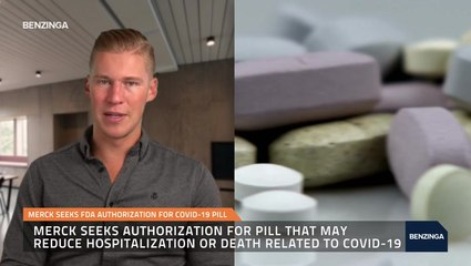 Merck Seeks FDA Authorization For Covid-19 Pill