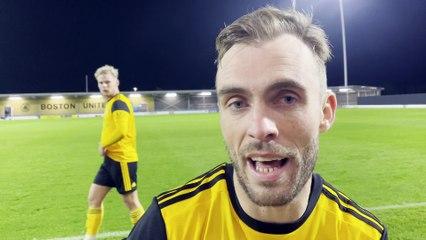 Shane Byrne - Boston United 4 Telford 1