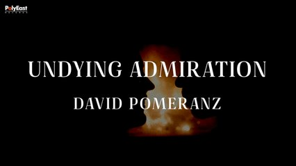 David Pomeranz - Undying Admiration (Official Lyric Video)