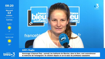 100% rugby avec Maud Lanteaume