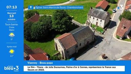 13/10/2021 - Le 6/9 de France Bleu Creuse en vidéo