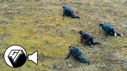 [No Talking] Tibetans Forage for Prized Cordyceps Herb aka 'Himalayan Gold'