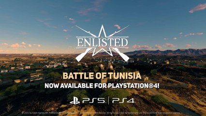 Enlisted - Battle of Tunisia PS