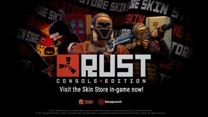 Rust Console Edition Skin Store Release Trailer XBOX