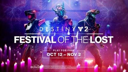 Destiny 2 - Season of the Lost - Festival of the Lost Trailer PS