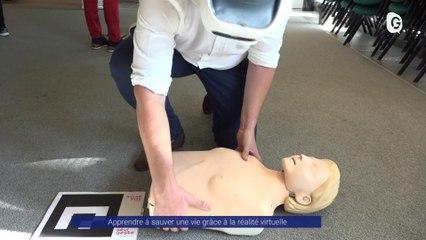 Reportage - La réalité virtuelle pour se former aux gestes de premiers secours