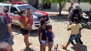 VÍDEO: PM de Pombal entrega brinquedos durante Operação Criança Feliz e comandante agradece à sociedade