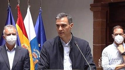 El Gobierno trabaja en posibles ayudas de la UE para La Palma
