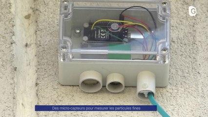 Reportage - 30 nouveaux capteurs de particules fines dans l'agglomération de Grenoble