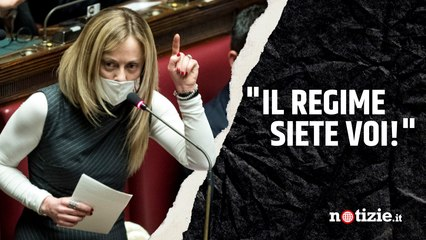 """Giorgia Meloni attacca Lamorgese sugli scontri alla Cgil a Roma: """"Sapeva e non ha fatto nulla"""""""
