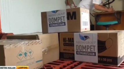 Media Group Kembali Berikan Bantuan ke Pemprov Lampung