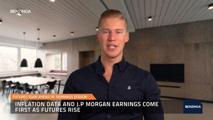 Futures Soar Ahead Of Earnings Season