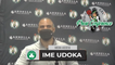 Ime Udoka Says Payton Pritchard Likely Has Broken Nose   Postgame Interview 10-13
