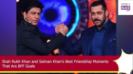 Shah Rukh Khan and Salman Khan's Best Friendship Moments That Are BFF Goals