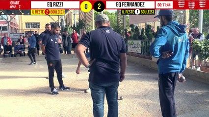 Quart ITALIE vs Eq FERNANDEZ : International à pétanque de Monaco - 9 octobre 2021