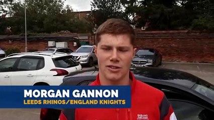 Morgan Gannon Leeds Rhinos England Knights