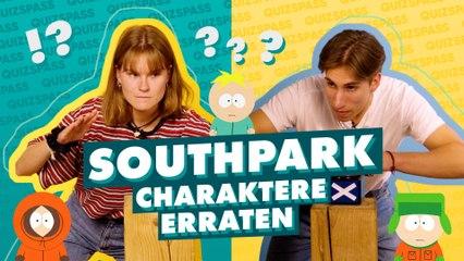 Erkennst du alle South Park Charaktere?