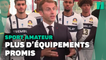 Macron promet 5000 infrastructures en plus pour le sport amateur avant les JO 2024