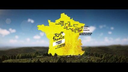 Tour de France Femmes 2022 - Le parcours en 3D du premier Tour de France Femmes !