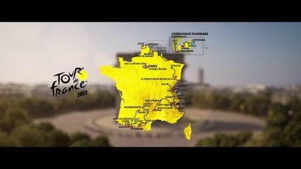 Tour de France 2022 - Le parcours en 3D de la 109e édition du Tour de France !