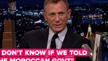 Daniel Craig reveals the Moroccan government didn't know about Spectre's record-breaking explosion