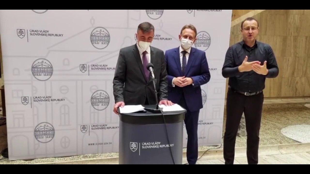 ZÁZNAM: Brífing ministra pôdohospodárstva S. Vlčana