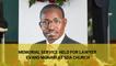 Memorial service held for lawyer Evans Monari at SDA church