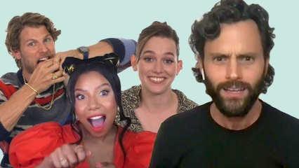 Penn Badgley and The Cast of Netflix' 'You' Test Their Acting Skills   That's So Emo   Cosmopolitan