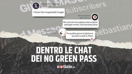 No Green Pass, cosa scrivono nelle chat? Il nostro viaggio nel gruppo dei complottisti