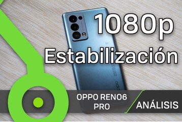 OPPO Reno6 Pro - Prueba de vídeo (noche, superestable)