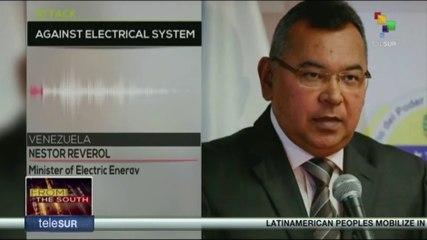 Venezuela denounce a new sabotage against electrical power grid
