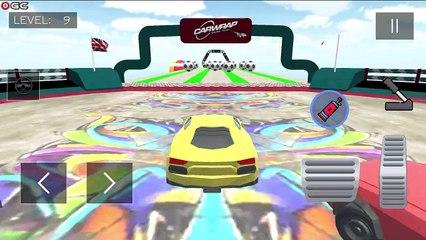 Crazy Car Stunt Game 2022 / Mega Ramp Car Games 3D / Android GamePlay