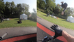 'French cyclist FAILS frontflip test while riding a pump track '