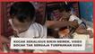 Kocak Sekaligus Bikin Mewek, Viral Video Bocah Tak Sengaja Tumpahkan Susu Bubuk