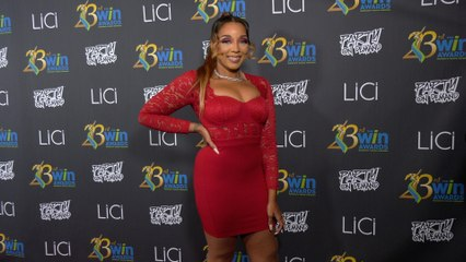 Devyn Kelly attends the 23rd Women's Image Awards red carpet in Los Angeles